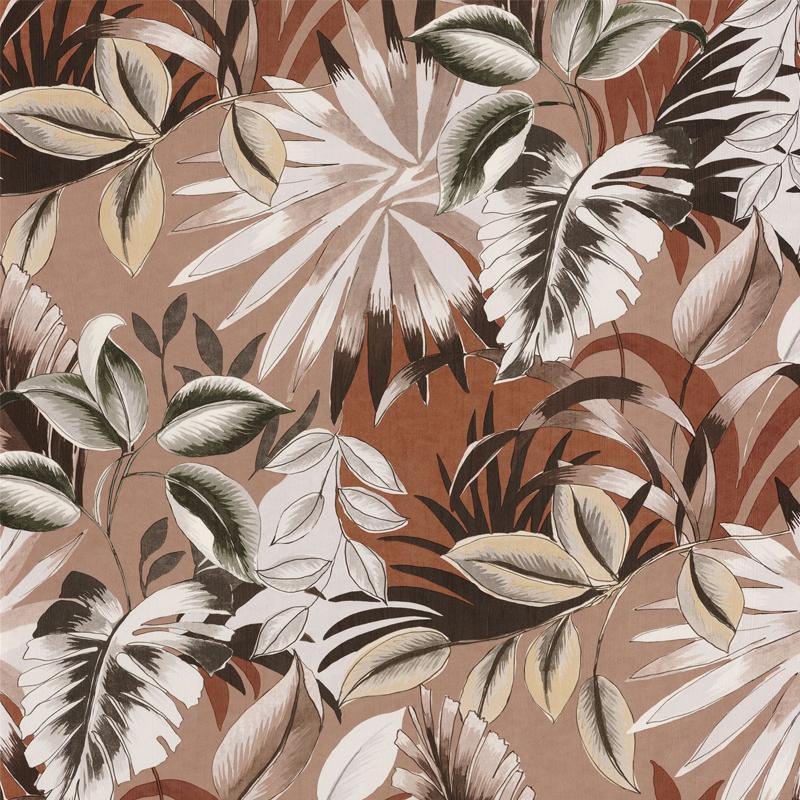 Papier peint Floresta poudre - RIO MADEIRA - Casamance - 74260456