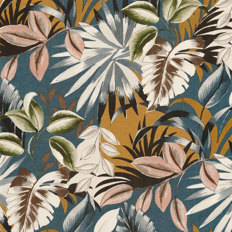 Papier peint Floresta multicouleurs - RIO MADEIRA - Casamance - 74260354