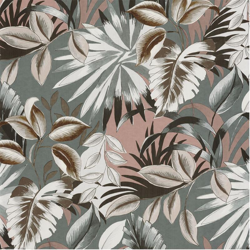 Papier peint Floresta acier - RIO MADEIRA - Casamance - 74260150
