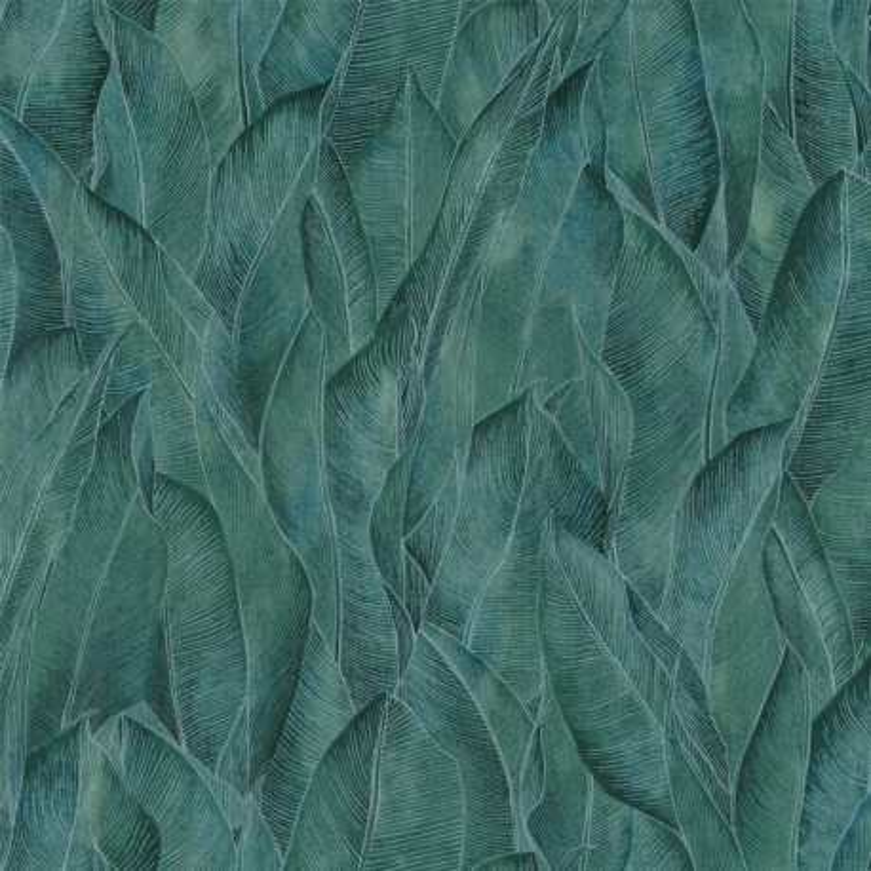 Papier peint Amazone menthe - RIO MADEIRA - Casamance - 74280374