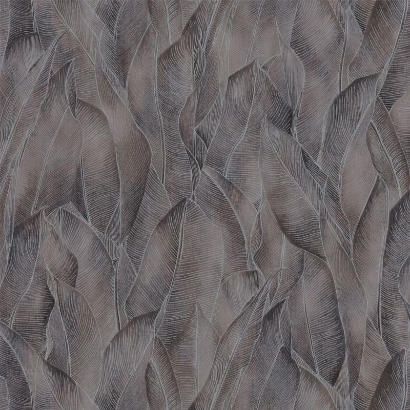 Papier peint Amazone taupe - RIO MADEIRA - Casamance - 74280272