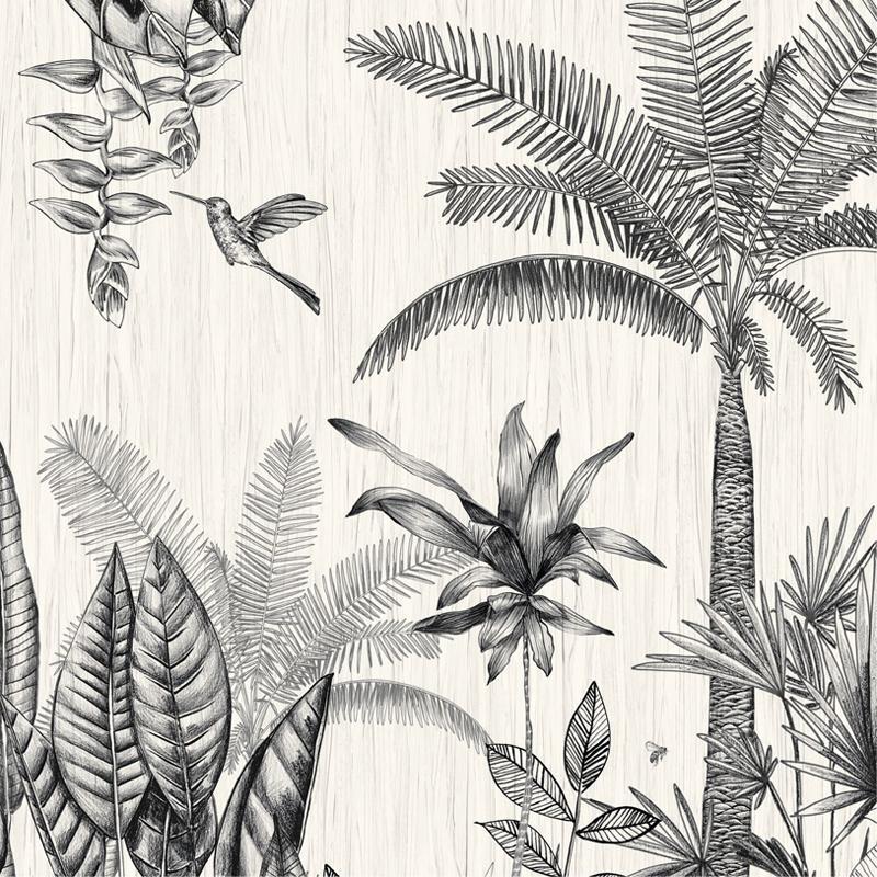 Panoramique vinyle sur intissé - Collection RIO MADEIRA - CASAMANCE