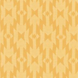 Papier peint intissé AZTEC motif ethnique jaune - Rasch