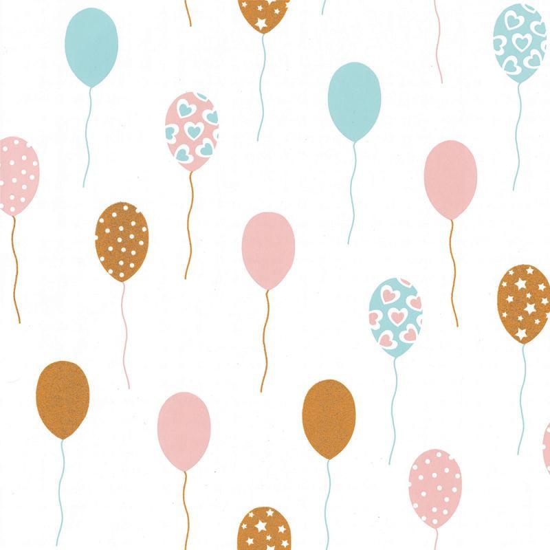 Papier peint Party Time multicouleurs - GIRL POWER - Caselio - GPR100862818