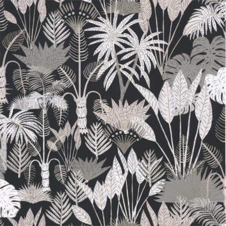 Papier peint Philippines Noir et beige - L'ODYSSEE - Caselio - OYS101419114
