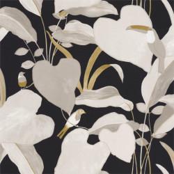 Papier peint Amazonia noir, beige et doré - L'ODYSSEE - Caselio OYS101421202