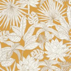 Papier peint Hawai jaune et doré - L'ODYSSEE - Caselio - OYS101432216