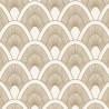 Papier peint Mayotte blanc et doré - L'ODYSSEE - Caselio OYS101450110