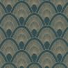 Papier peint Mayotte bleu nuit et doré - L'ODYSSEE - Caselio OYS101456903