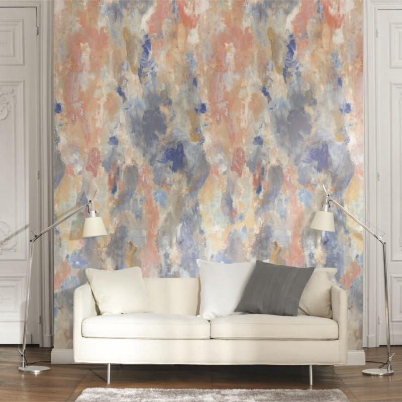 Panoramique Blotting Paper multicolore - BEAUTY FULL IMAGE  - Casadeco - BFIM84869407