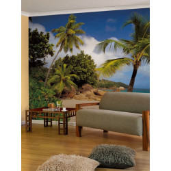 Panoramique PRASLIN collection Tropical - Komar