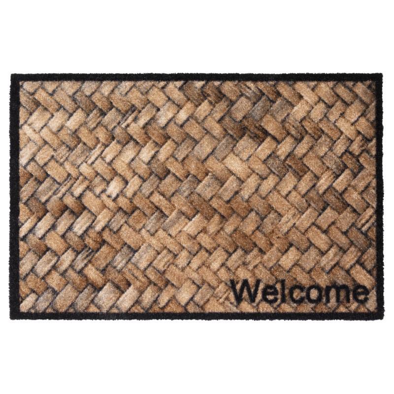 Paillasson / Tapis de propreté PRESTIGE Welcome Wicker Hamat