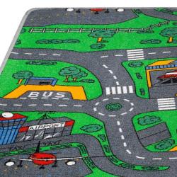 Tapis Enfant - Circuit voitures ROUNDABOUT Hamat - grandes tailles