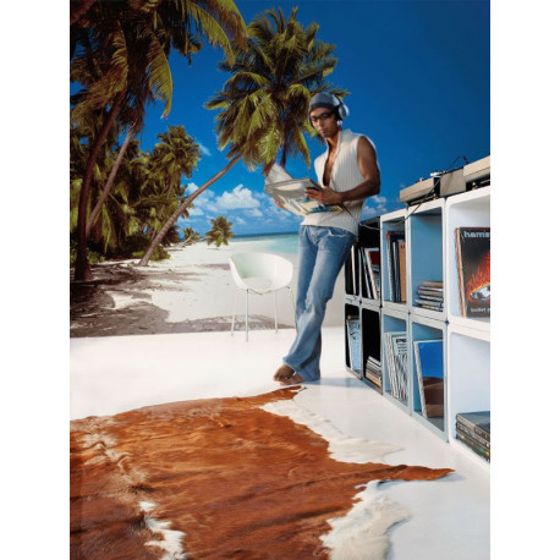 Panoramique MALDIVES collection Tropical - Komar