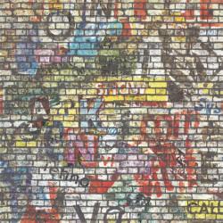 Panoramique Brique multicolore - BEAUTY FULL IMAGE  - Caselio - BFI68194568