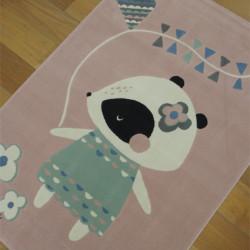 "Tapis enfant ""Petite Souris rose"" - Canvas BALTA 120x170"