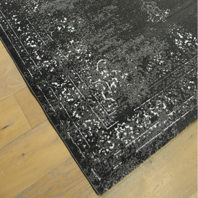 Tapis Médaillon effet Killim gris - 160x230cm - ELLE - BALTA
