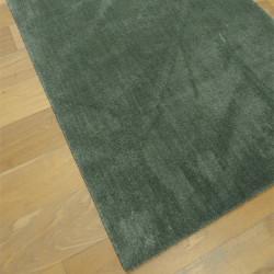 Tapis extra doux uni vert kaki - 2 tailles - FEEL - Balta
