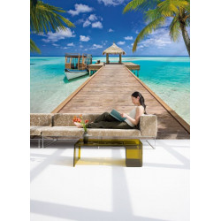 Panoramique BEACH RESORT collection Tropical - Komar