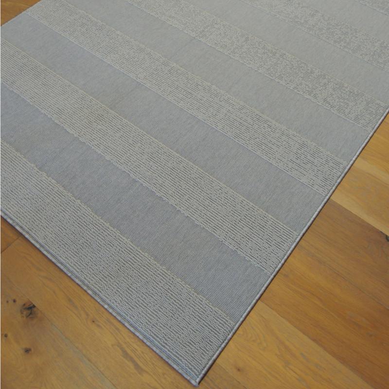 """Tapis structuré uni """"Lignes gris clair"""" - Sfynx BALTA 140x200"""