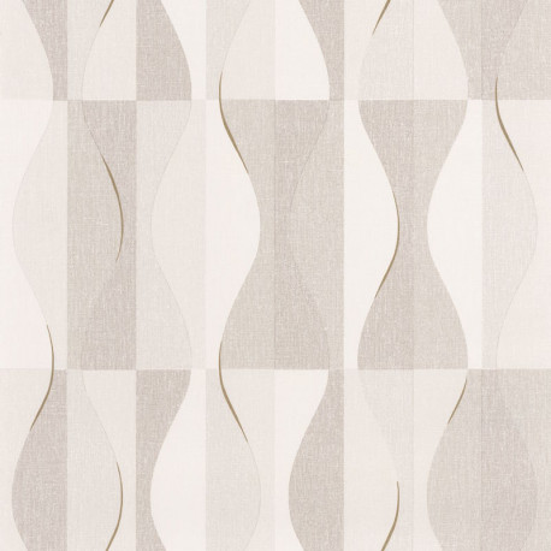 Papier peint Ondulation beige - MOOVE - Caselio - MVE101381212