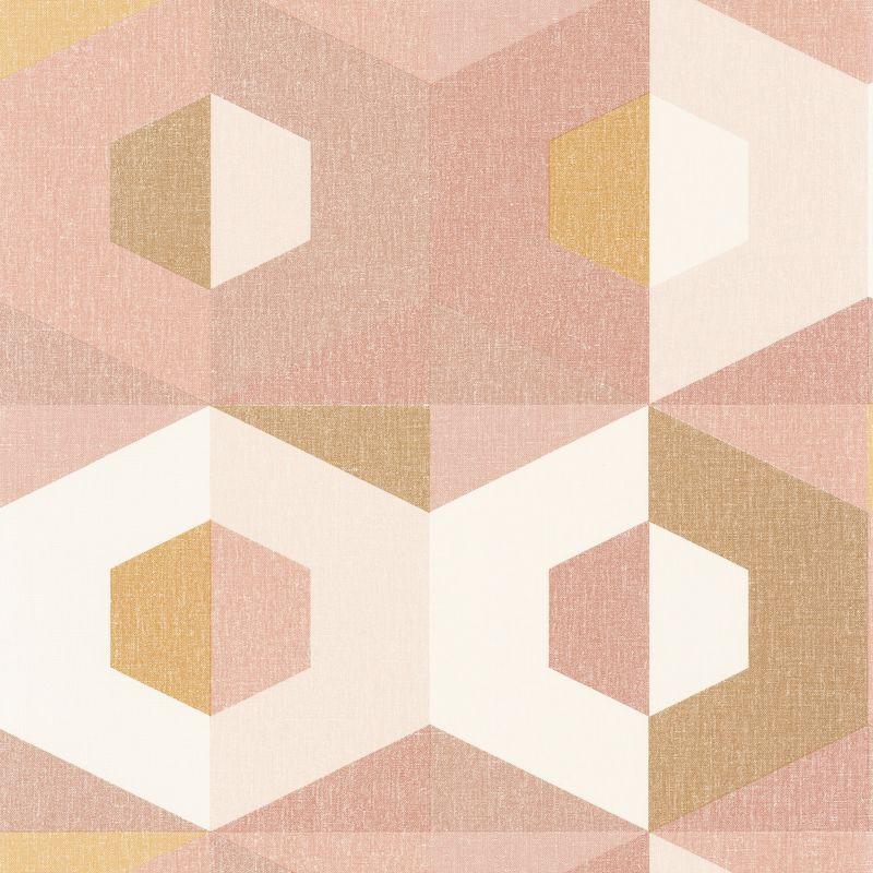 Papier peint Pop ocre rose doré - MOOVE - Caselio - MVE101374109