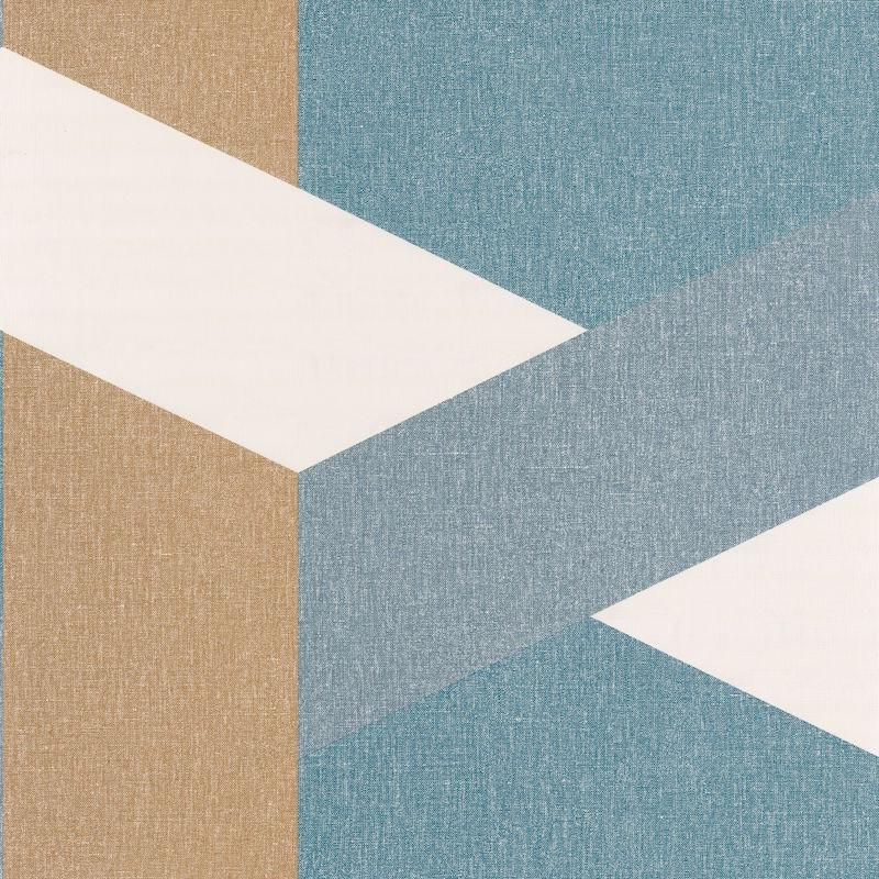 Papier peint Twist bleu madura bleu gris doré - MOOVE - Caselio - MVE101356319