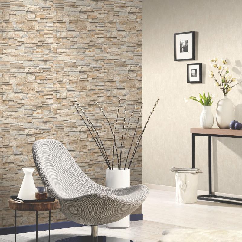 Papier peint Parements beige clair - Erismann - 02363-10