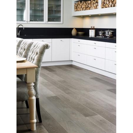 QUICKSTEP - Lames stratifiées clipsables : LARGO - chêne vieilli gris planches