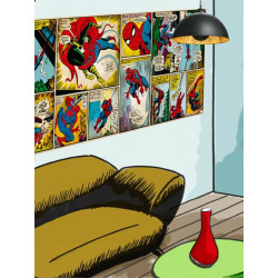 Panoramique MARVEL COMIC SPIDERMAN collection Marvel - Komar
