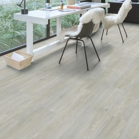 """Lame PVC clipsable """"Chêne clair soyeux BACL40052"""" - Livyn Balance Click QUICK STEP (résistant)"""