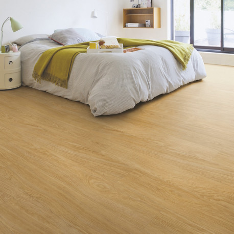 "Lame PVC clipsable ""Chêne naturel select BACL40033"" - Livyn Balance Click QUICK STEP (résistant)"