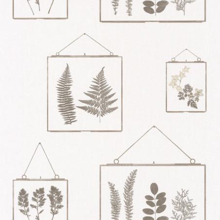 Papier peint Millefeuille beige - AU BISTROT D'ALICE - Caselio - BIS100631003