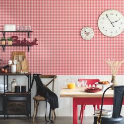 Papier peint Marmelade rouge - AU BISTROT D'ALICE - Caselio - BIS100668088