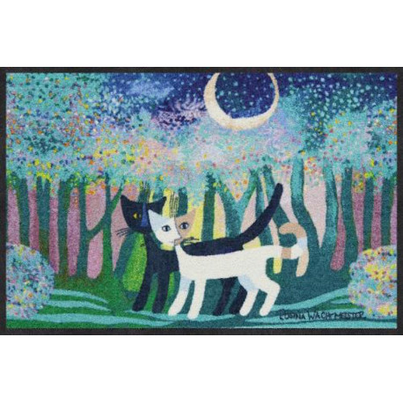 Tapis de propreté - paillasson chats- bosco incantato - EFIA