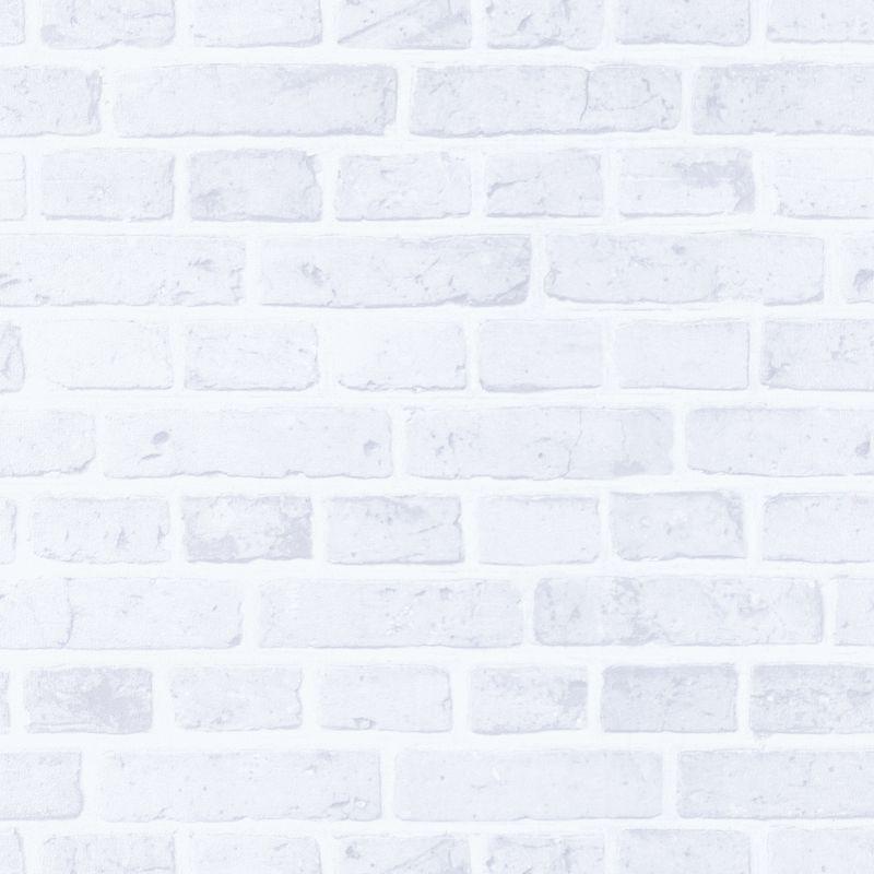 Papier peint Briques blanc - AU BISTROT D'ALICE - Caselio - BIS100680008