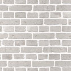 Papier peint Briques gris beige - AU BISTROT D'ALICE - Caselio - BIS100681017