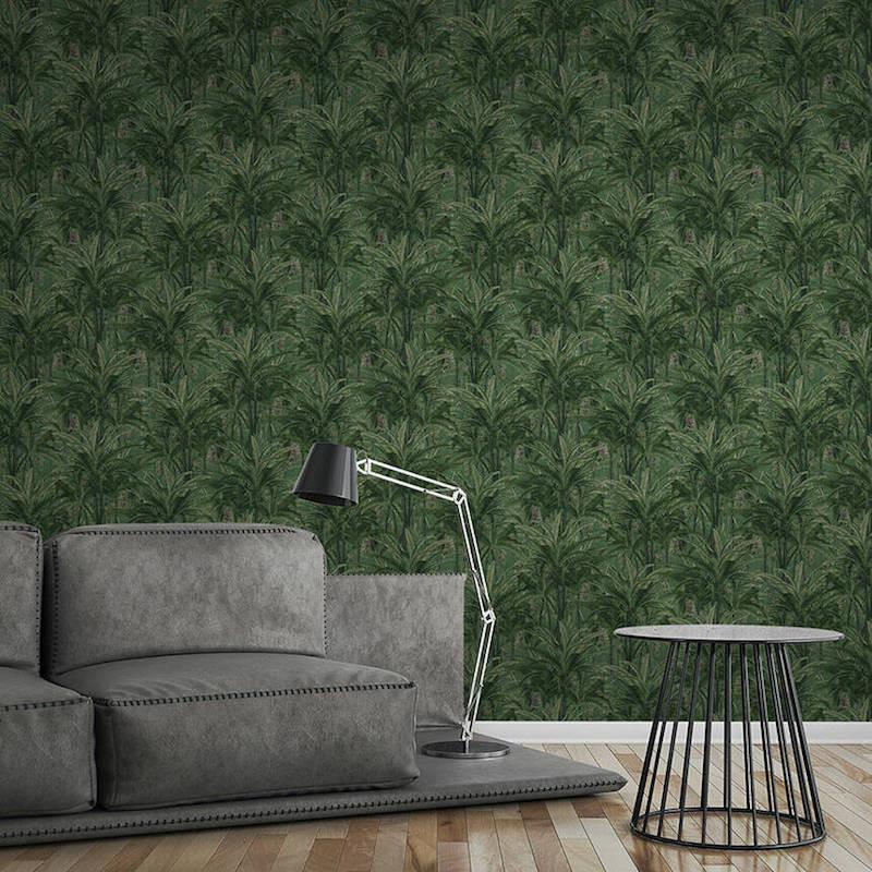 Papier peint Jungle Forest vert - GREENERY - AS Creation - 364802