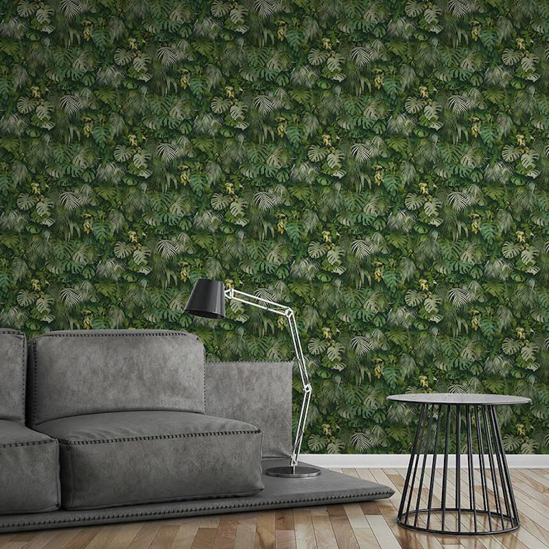Papier peint Jungle Amazonia vert - GREENERY - AS CREATION - 372802