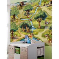 Panoramique LE MONDE DE WINNIE collection Disney - Komar