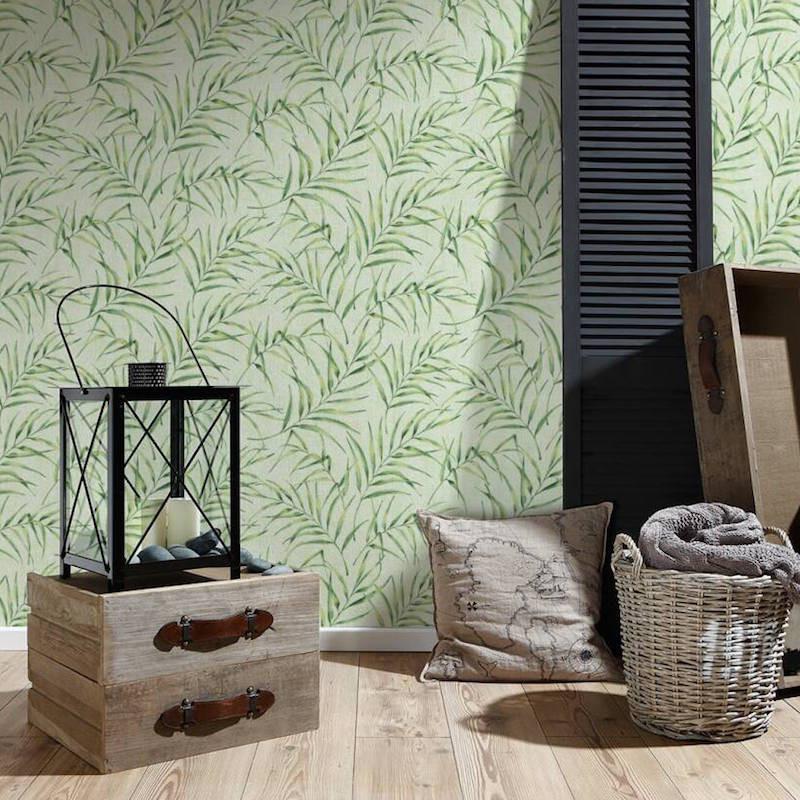 Papier peint Feuillages vert - GREENERY - AS Creation - 373353
