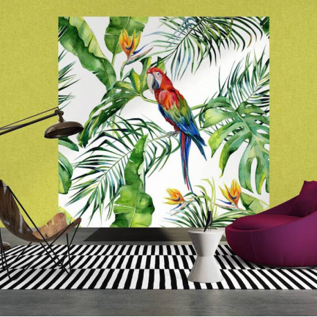 Panoramique Parrot I - GREENERY - AS Creation - 116614