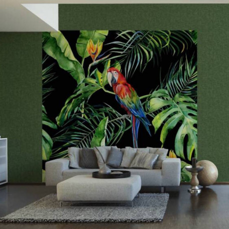 Panoramique Parrot II - GREENERY - AS Creation - 116615