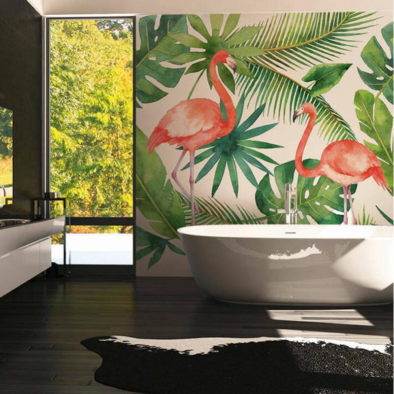 Panoramique Flamingo I - GREENERY - AS Creation - 116612