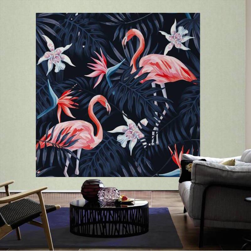 Panoramique Flamingo II - GREENERY - AS Creation - 116613