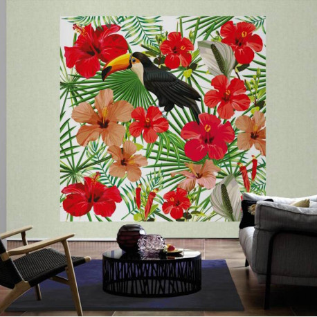 Panoramique Toucan I - GREENERY - AS Creation - 116609