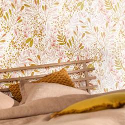 Papier peint Joy rose blanc or - GREEN LIFE - Caselio - GNL101694002