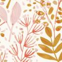 Papier peint Joy rose or fond blanc -GREEN LIFE- Caselio GNL101694002