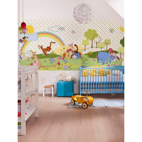 Panoramique WINNIE BEAUTIFUL DAY collection Disney - Komar