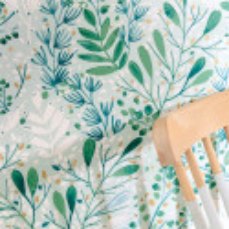 Papier peint Joy vert bleu or - GREEN LIFE - Caselio - GNL101697672
